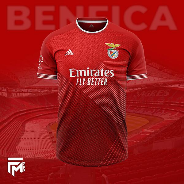 Benfica Home 2022 Concept