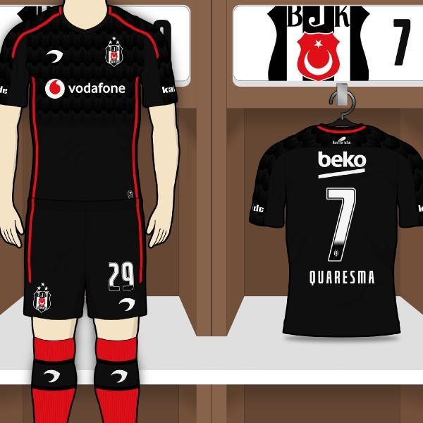 Beşiktaş JK | Away Kit