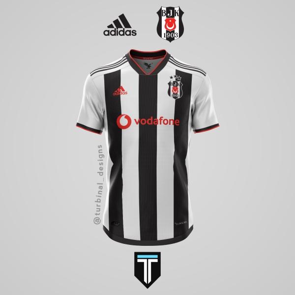 Beşiktaş x Adidas - Home Kit Concept