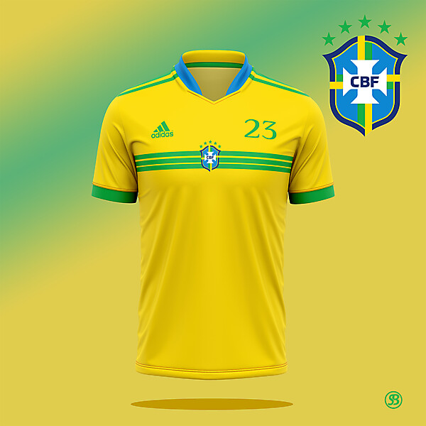 Brazil national football team x Adidas