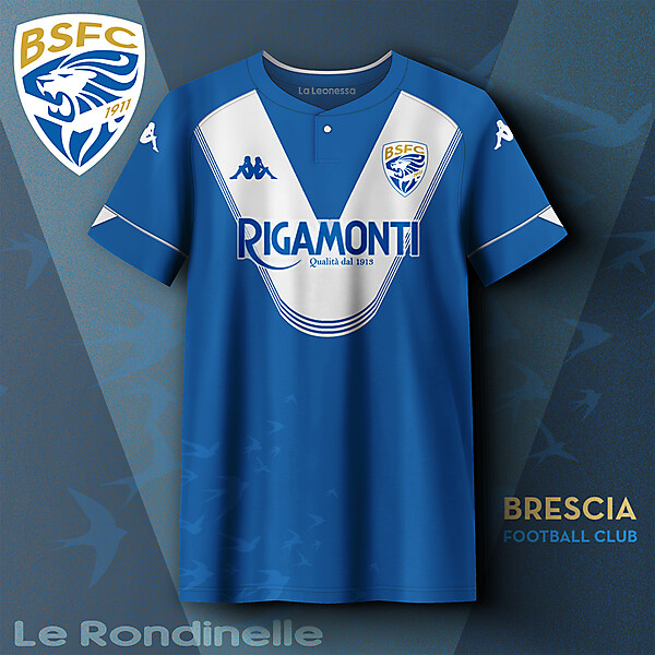 Brescia Calcio home concept