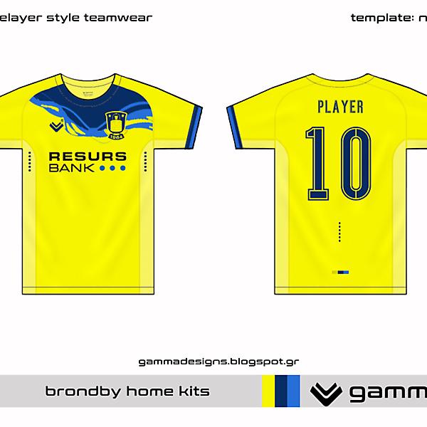 brondby home kit