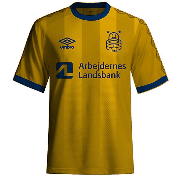 Brondby Umbro kit