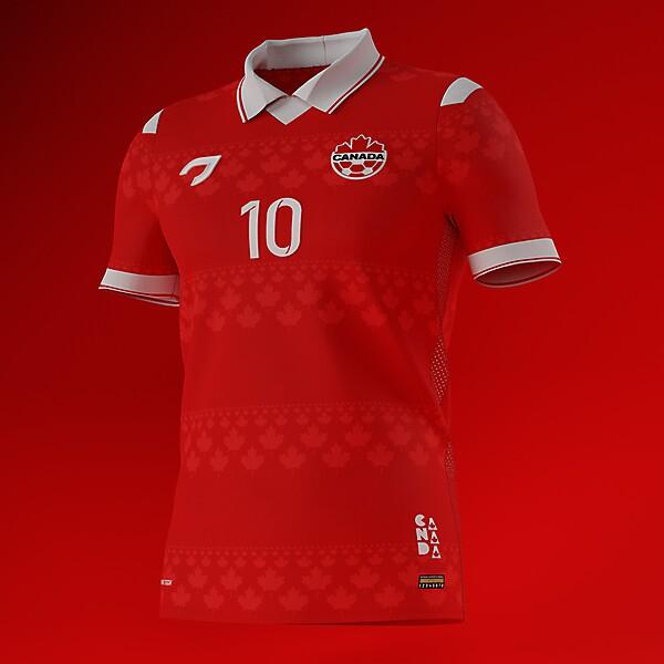 Canada National Team | Home Shirt