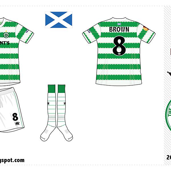 Celtic FC home kit by @kunkuntoto
