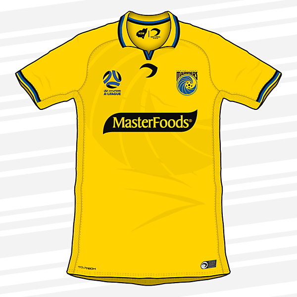 Central Coast Mariners | Home Kit