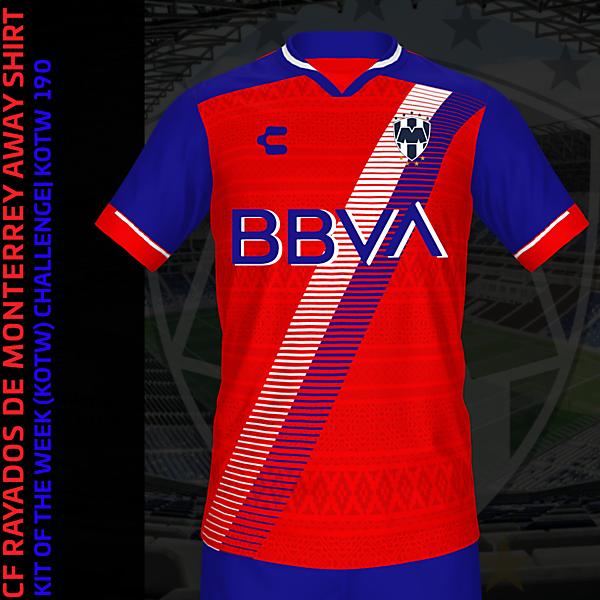 CF Rayados de Monterrey Away Kit   KOTW 190