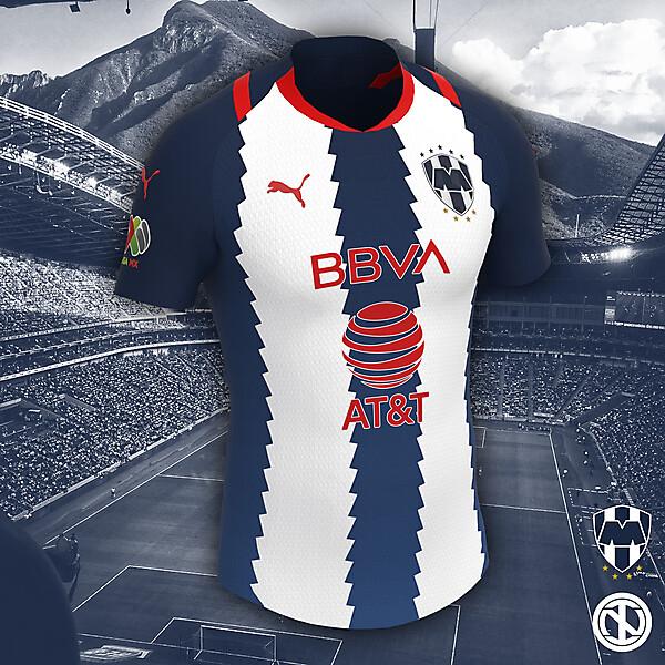 CF Rayados Monterrey   Home Kit Concept