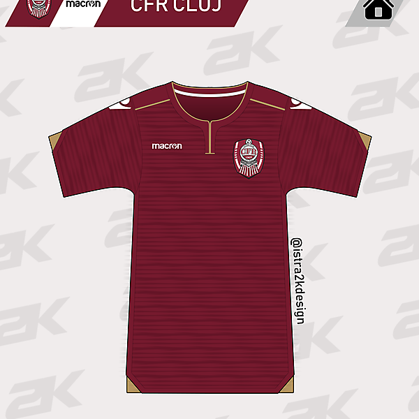 CFR Cluj x Macron