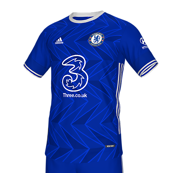 Chelsea 21 home x Adidas