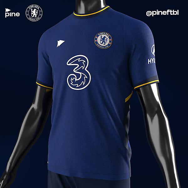 Chelsea FC Home x Pine
