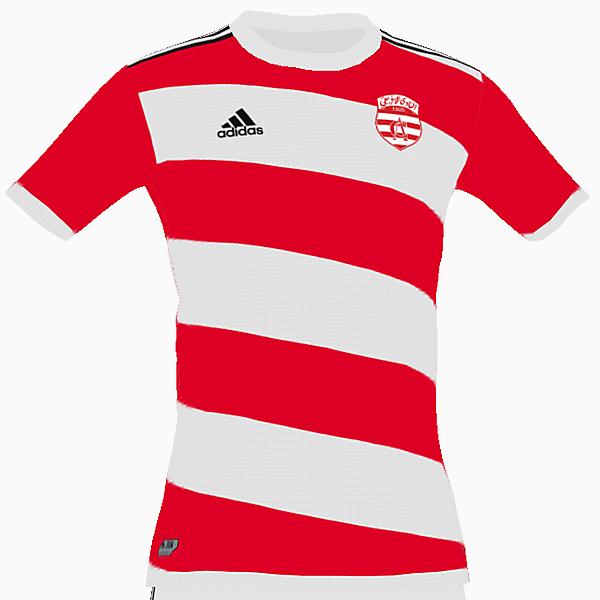 Club Africain home shirt