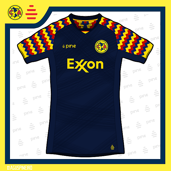 Club América Away Kit by Pine