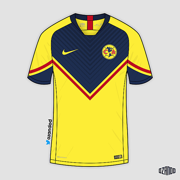 Club America x Nike | Home @ozandod