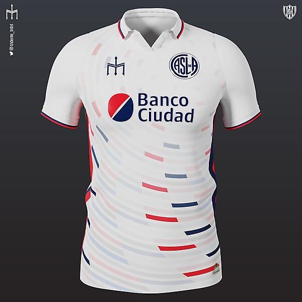 Club Atlético San Lorenzo de Almagro X TRIDENTE | Away kit | KOTW