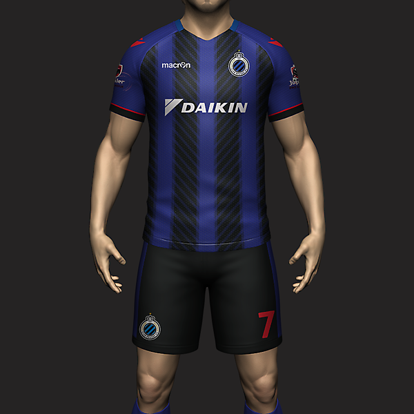 Club Brugge - Kit of the Week