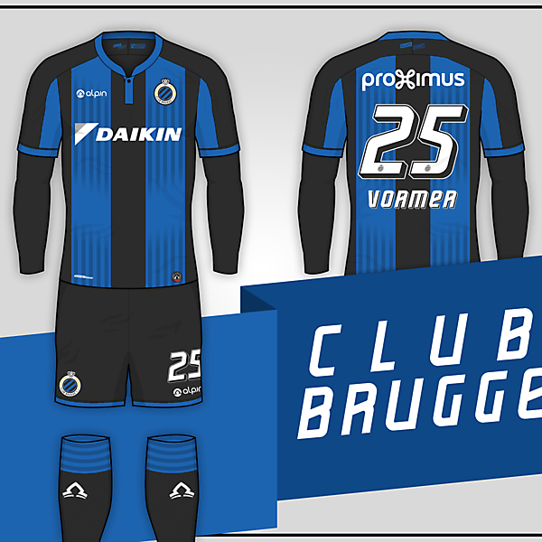 Club Brugge // Home Kit