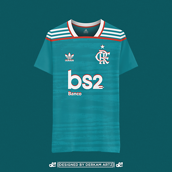 CR Flamengo x Adidas x Third Kit
