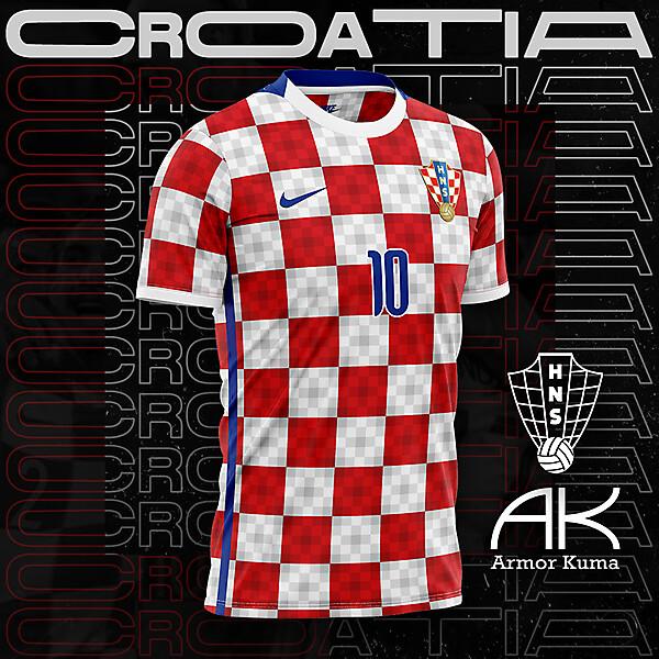 Croatia National Team Nike Home Kit