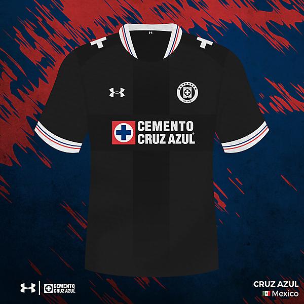 Cruz Azul away/third kit
