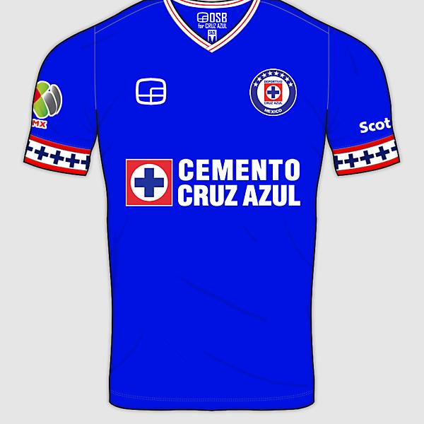 Cruz Azul Home Shirt