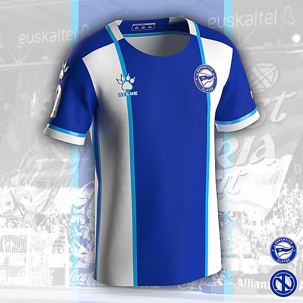 Deportivo Alavés   Home Kit Concept