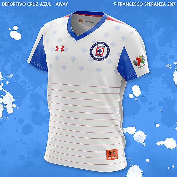 Deportivo Cruz Azul - away