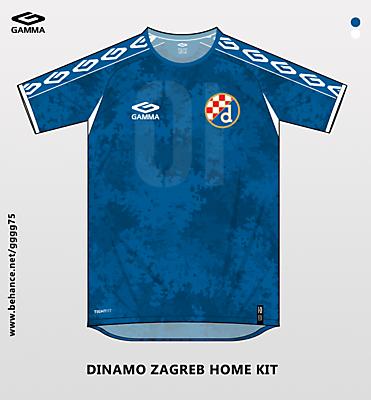 dinamo zagreb home kit