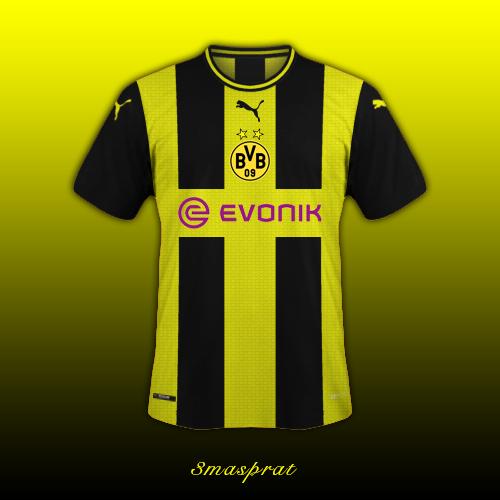 Dortmund Home Shirt