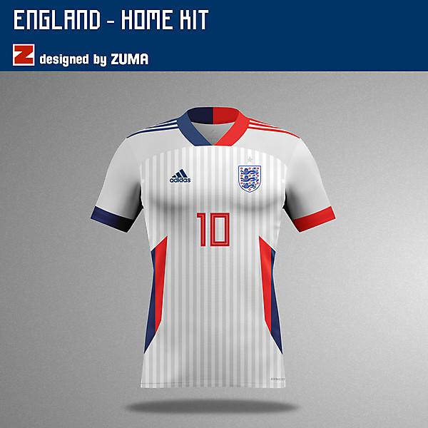 England | Adidas Home Kit