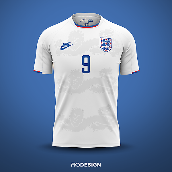 England | Nike | Home
