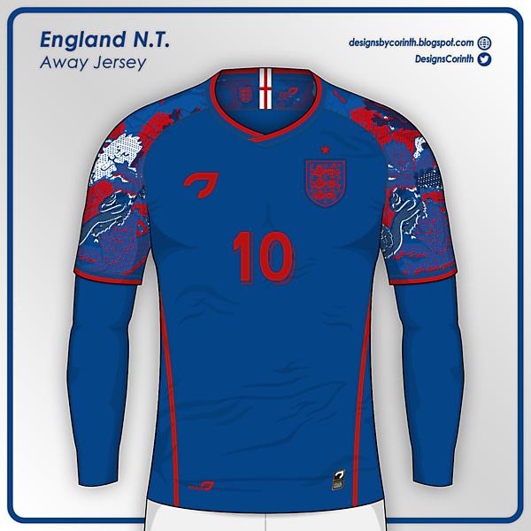 England National Team | Away Jersey
