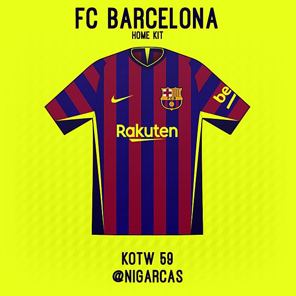 FC Barcelona - Home shirt
