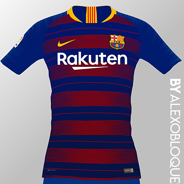 FC Barcelona Home Jersey | ByAlexobloques