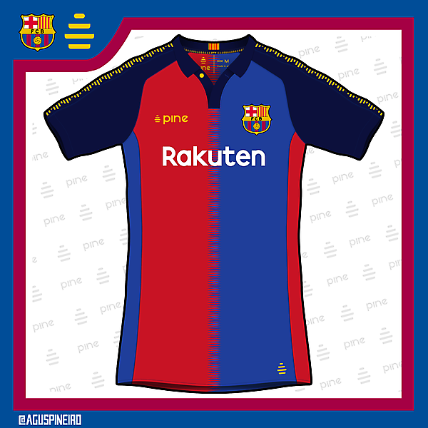 FC Barcelona Home Kit by Pine
