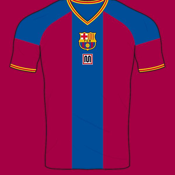 FC Barcelona Meyba Home Shirt