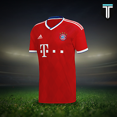 FC Bayern München Home Kit Concept
