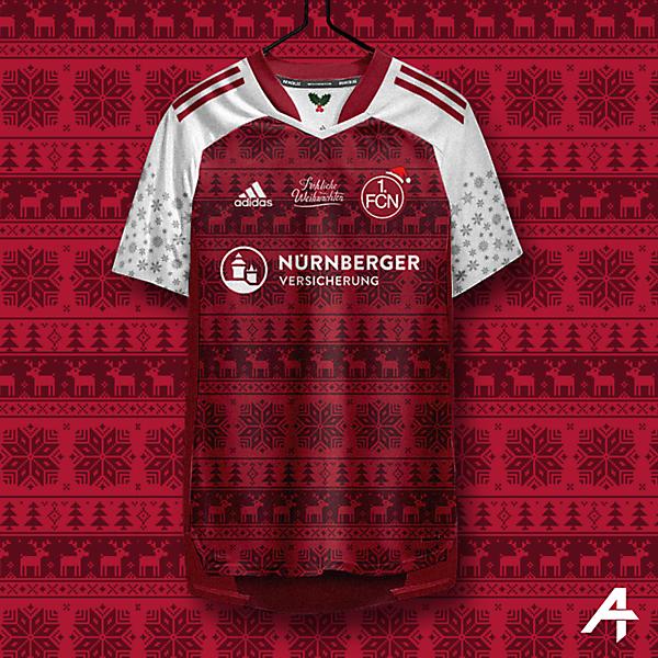 1. FC Nürnberg Christmas kit concept