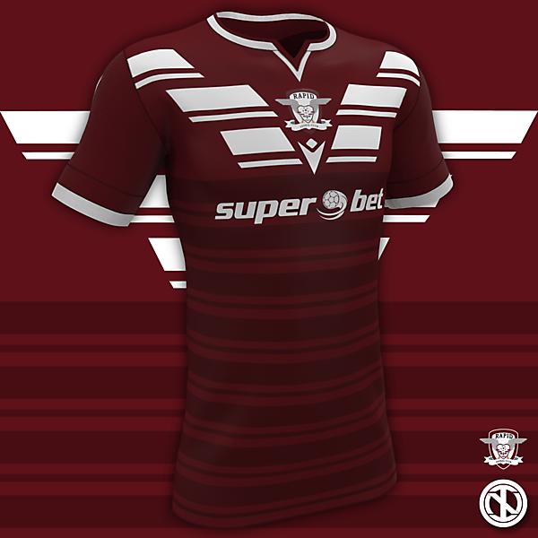 FC Rapid București | Home Kit Concept