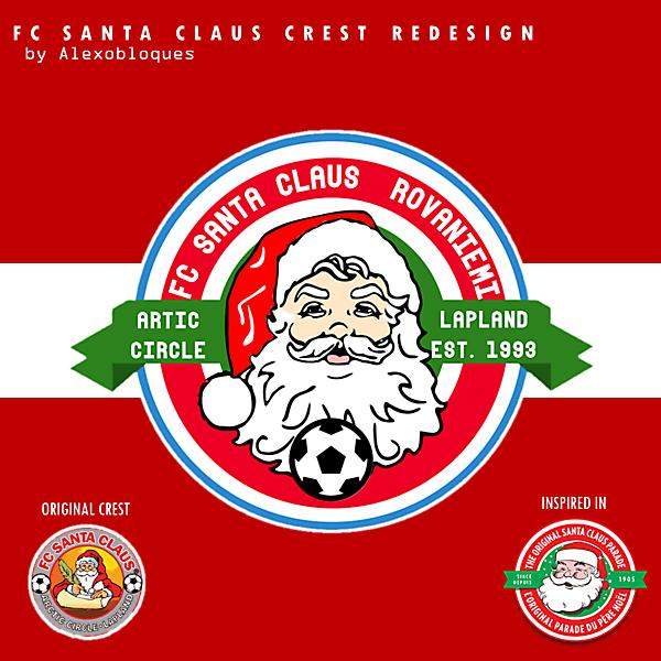 FC Santa Claus Crest Redesign