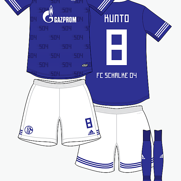 FC Scahlke 04 home kit by @kunkuntoto