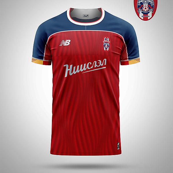 FC Ulaanbaatar home concept