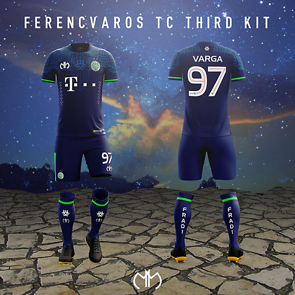 Ferencvàros - 3dr kit by MM