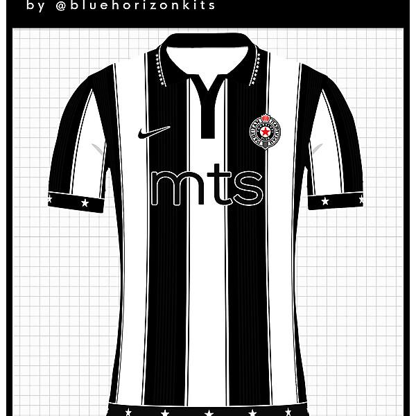 FK Partizan Belgrade Home Shirt