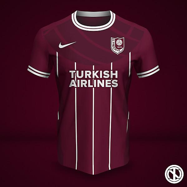 FK Sarajevo | Home Kit Concept