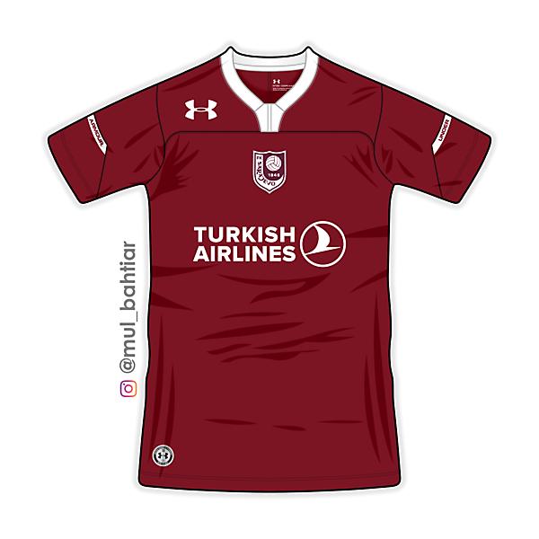 FK Sarajevo Home Jersey