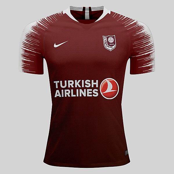 FK Sarajevo home kit