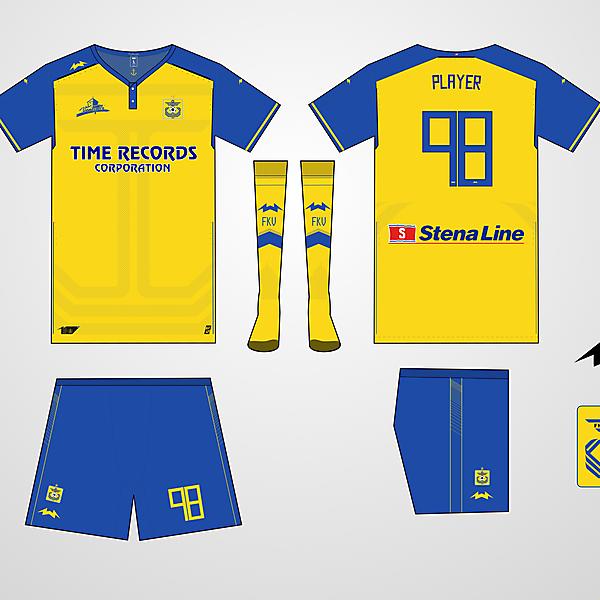 FK Ventspils Home kit