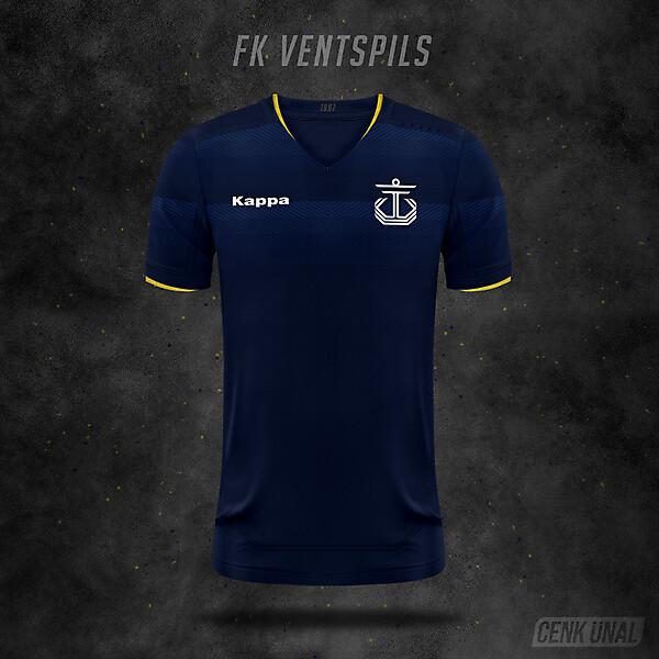 FK Ventspils x Kappa
