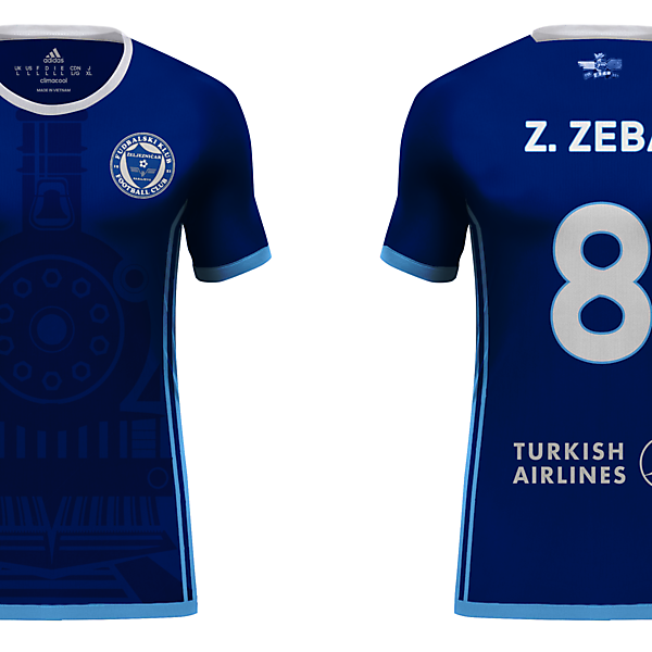 FK Željezničar - Home Kit